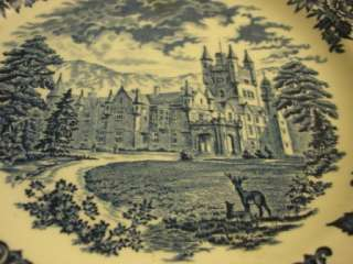 Enoch Wedgwood Royal Homes of Britain, dinner plate