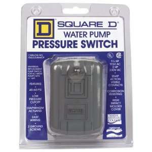 Square D Water Pump Pressure Switch (FSG2J24M4CP) Home Improvement