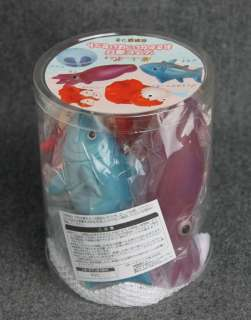 Ponyo Soft Vinyl Bath Toy Fish (Osakana Ippai) Set/Figure on Cliff