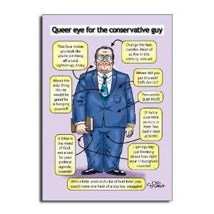Queer Eye   Hilarious Cartoon Birthday Greeting Card
