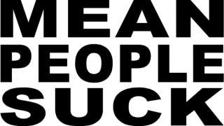 MEAN PEOPLE SUCK Sticker Funny Decal Window Vinyl Logo