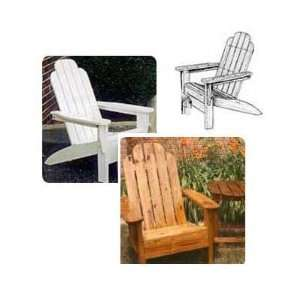 Grandpa Adirondack Chair Plans Full Size Patterns