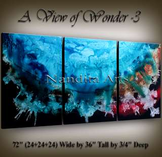 Contemporary art deco modern abstract paintings original canvas wall