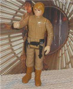 Vintage 1980 Luke Skywalker (Bespin Fatigues) Action Figure
