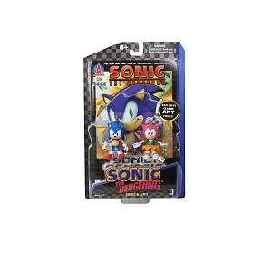 Inch Action Figure with Comic Book 2Pack Sonic Amy Toys & Games