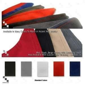 Custom Alcantara Shift Boot and Handbrake Boot Set  For E60  2pcs  SMG