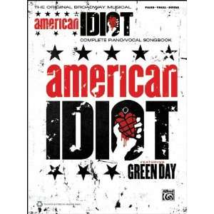 Alfred Green Day American Idiot The Musical Piano/Vocal