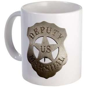 Deputy US Marshal Badge Police Mug by CafePress: Kitchen