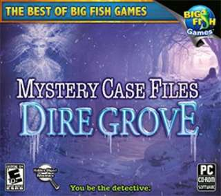 Mystery Case Files DIRE GROVE New XP Vista 7 NEW Sealed