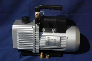2Stage Rotary Vane High Performance Deep Vacuum Pump 6CFM Bagging HVAC