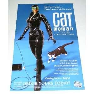 Collector Figure Comics Shop Promo Poster: Batman Foe: Everything Else