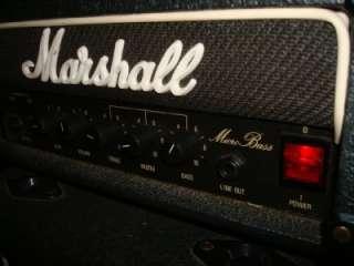MARSHALL Micro Bass amp Half Stack Model 3505 30W 1 x 10 Cab Vintage