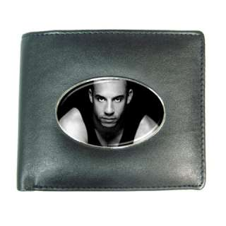 Vin Diesel Mens Leather Wallet Credit Card Gift