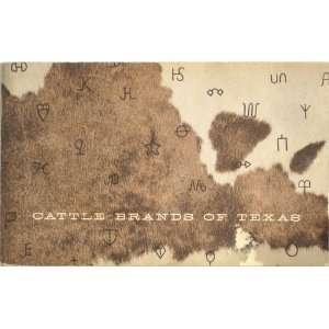 Cattle Brands of Texas: Wayne Gard: Books