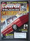 Mini Truckin Magazine March 2005 Shane Shaffer Nissan Hardbody