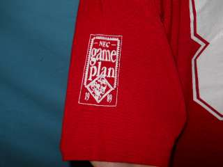 vtg NEC COMPUTERS GAME DAY JERSEY CHAMPION t shirt XL