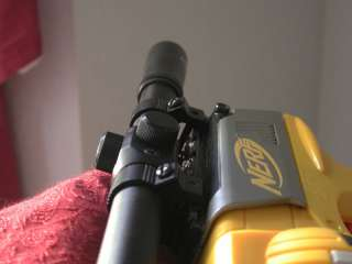 METAL SNIPER SCOPE FITS ALL NERF GUNS ADJUSTABLE SIGHTS