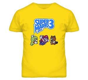 Super Mario Bros 3 Characters T Shirt