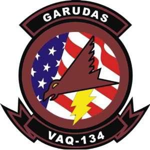US Navy VAQ 134 Garudas Squadron Decal Sticker 3.8