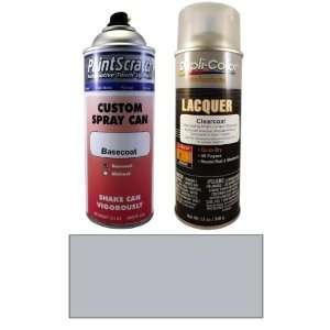 12.5 Oz. Arctic Silver Metallic Spray Can Paint Kit for