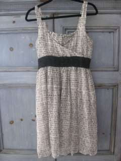 Vena Cava The Lema Dress silk text print dress size 6