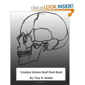 Book (Vol.1): skull tattoo flash (9781466498723): Mr. Troy D. Haskin