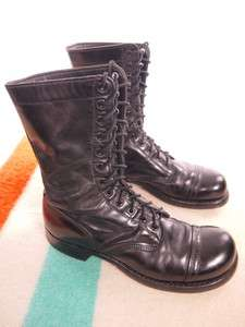 1970s Vintage CORCORAN Mens 10 Leather Jump Boots US 9 D