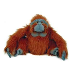 14 Male Orangutan Monkey Plush Stuffed Animal Toy Toys