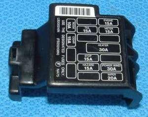 mazda miata dash fuse box cover 90 97 mx5