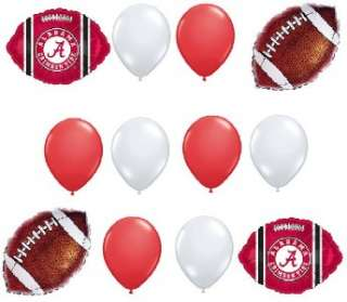 University of Alabama FOOTBALL BALLOONS BIRTHDAY PARTY