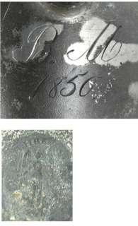 1850 CONT EUROPEAN PEWTER FISH CREAMER/MILK PITCHER