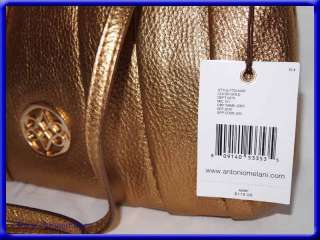 ANTONIO MELANI PURSE   Clutch Evening Bag/Gold $119 New   Shoulder Bag