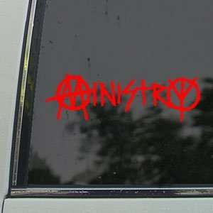 Red Decal Meal Rock Band Car Red Sicker Ars, Crafs & Sewing