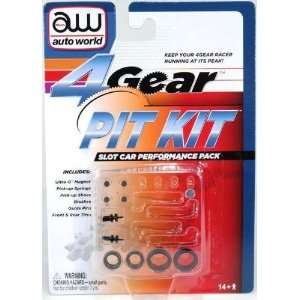 NYA 4 Gear Slot Car Pit Kit Toys & Games