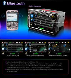 ES958US 8 HD Car DVD Player GPS iPod TV PiP VW PASSAT SKODA BORA