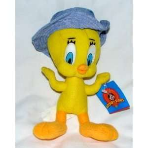 8 Tweety Bird in Denim Hat: Toys & Games