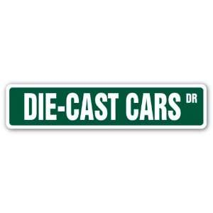 DIECAST CARS Street Sign vehicles matchbox trucks gift collector toys