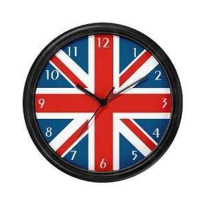 British Flag Union jack Wall Clock by