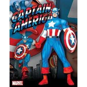 Comic Book Marvel Captain America Metal Tin Sign