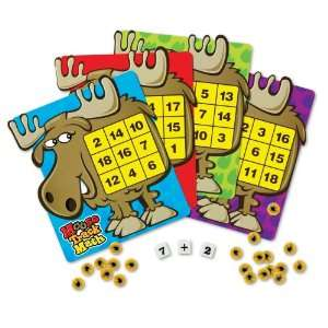 Learning Resources Moose Track Math Bingo: Office Products