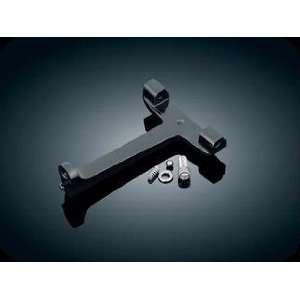 4537 Black Adjustable Passenger Pegs For Harley Davidson Automotive
