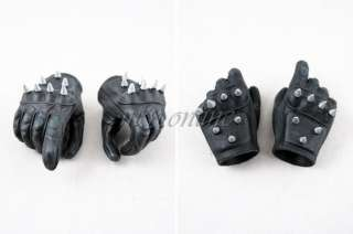 HANDS with HAND PEGS from Hot Toys GHOST RIDER with Bike Figure