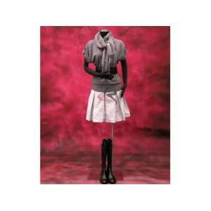 (JF F02Sarm+BS 05) Display Female Body Form black jersey