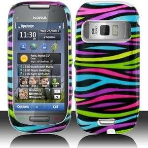 Colorful Zebra Hard Case Phone Cover for Nokia Astound