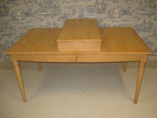 Ethan Allen American Dimensions Rectangular Table 6304 Natural Finish