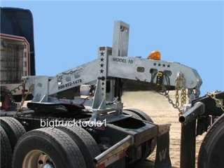 Portable Fifth Wheel Wrecker Boom for Semi Truck Towing