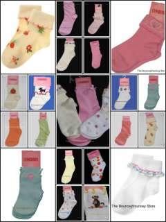NWT Gymboree Girl Socks Pick Style 0 1 2 3 4 5 6 7 8 9