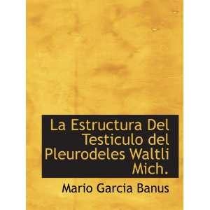 Mich. (Spanish Edition) (9781117996905) Mario Garcia Banus Books