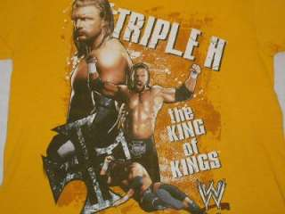 WWE Triple H King of Kings T Shirt Youth sz. XL