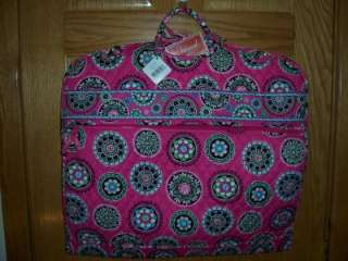 VERA BRADLEY GARMENT BAG Cupcake Pink Hanging Travel Tote NWT